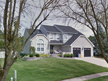 Colt's Neck neighborhood in Washington Township